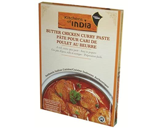6-Pack of 3.5oz Kitchens of India Butter Chicken Curry Paste $7.59 + free s/h ($6.79 w/ 5 s&s)