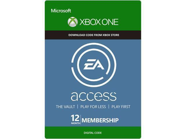 EA Access 12 Month Subscription Xbox One (Digital Delivery) for $24.99 AC @ Newegg.com