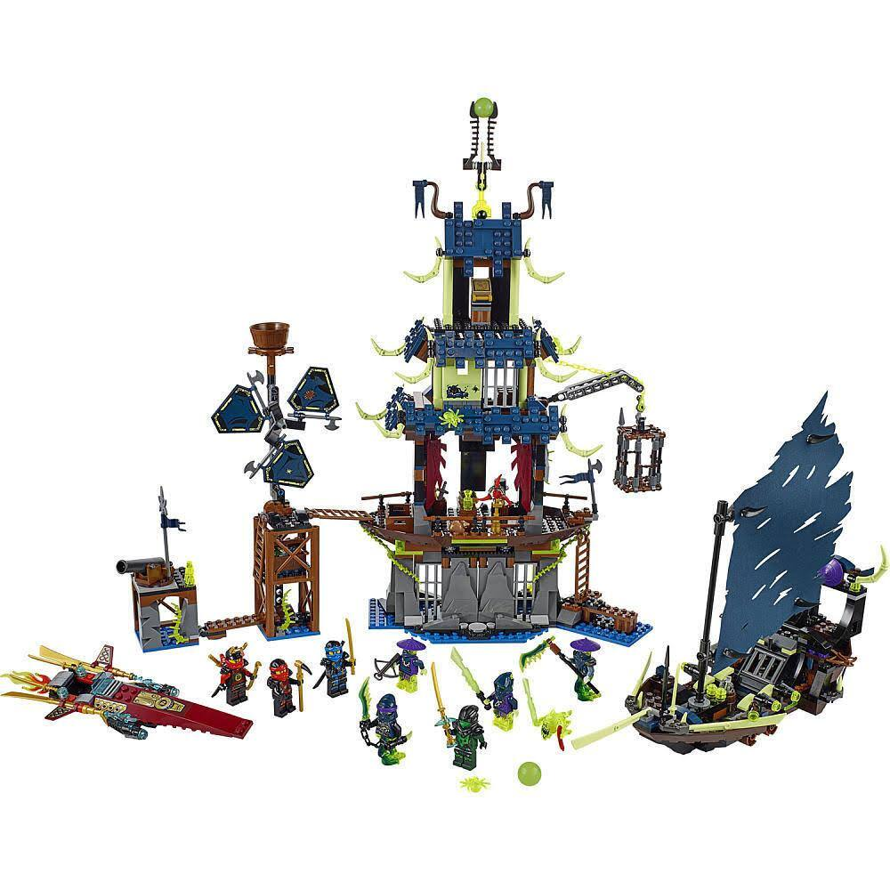 LEGO 1069-Piece Ninjago City of Stiix + LEGO Ultimate Lavaria  $80 + Free Shipping