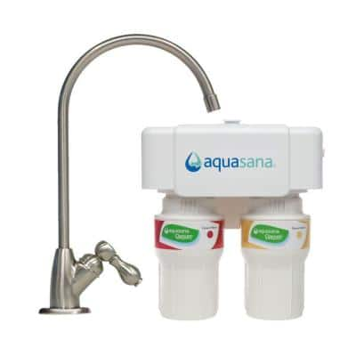 Up to 44% off Water Filtration Systems: Aquasana 2-Stage Under Counter Water Filtration System w/ Faucet $59.99 & More