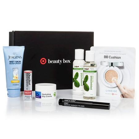 Target October Beauty Box $7.00