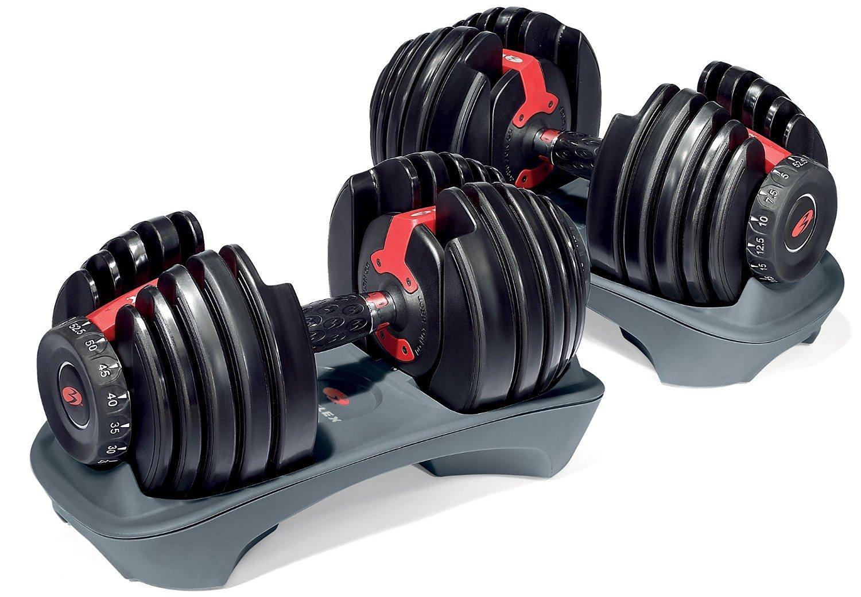 Bowflex SelectTech 552 Adjustable Dumbbells (Pair) $250 @ Amazon FSS