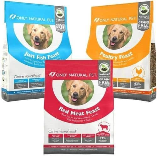 65% Off Select Only Natural Pet All Natural Grain Free Dry Dog Food: 22.5-Lb Poultry Feast $17.50, More + free shipping