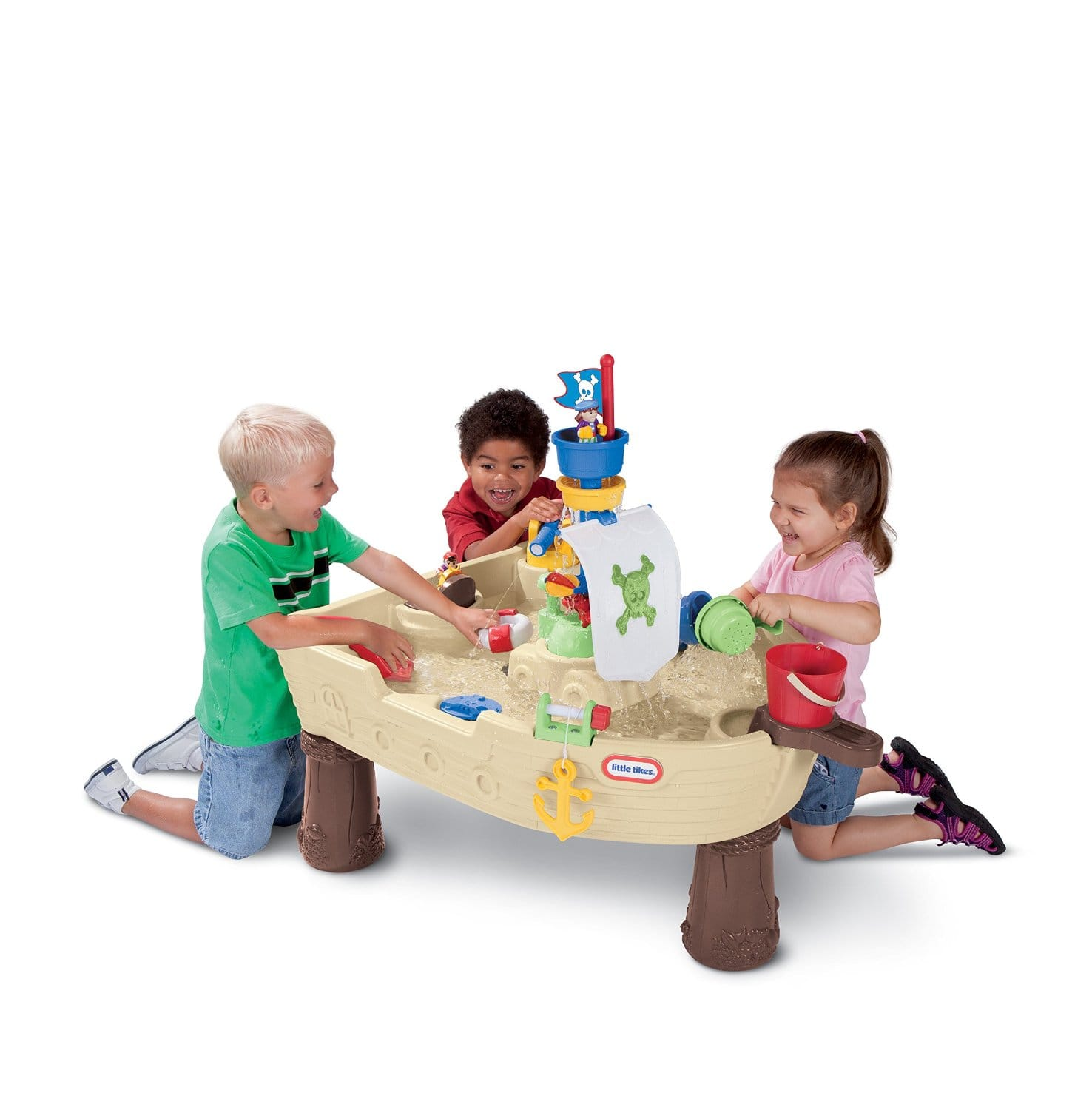 Little Tikes Anchors Away Pirate Ship Water Play Table $29.09 + FS w/Prime