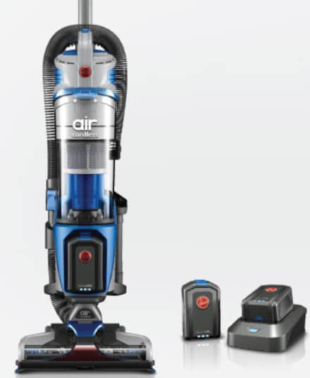 Hoover Air Cordless Lift Bagless Upright Vacuum $139.99