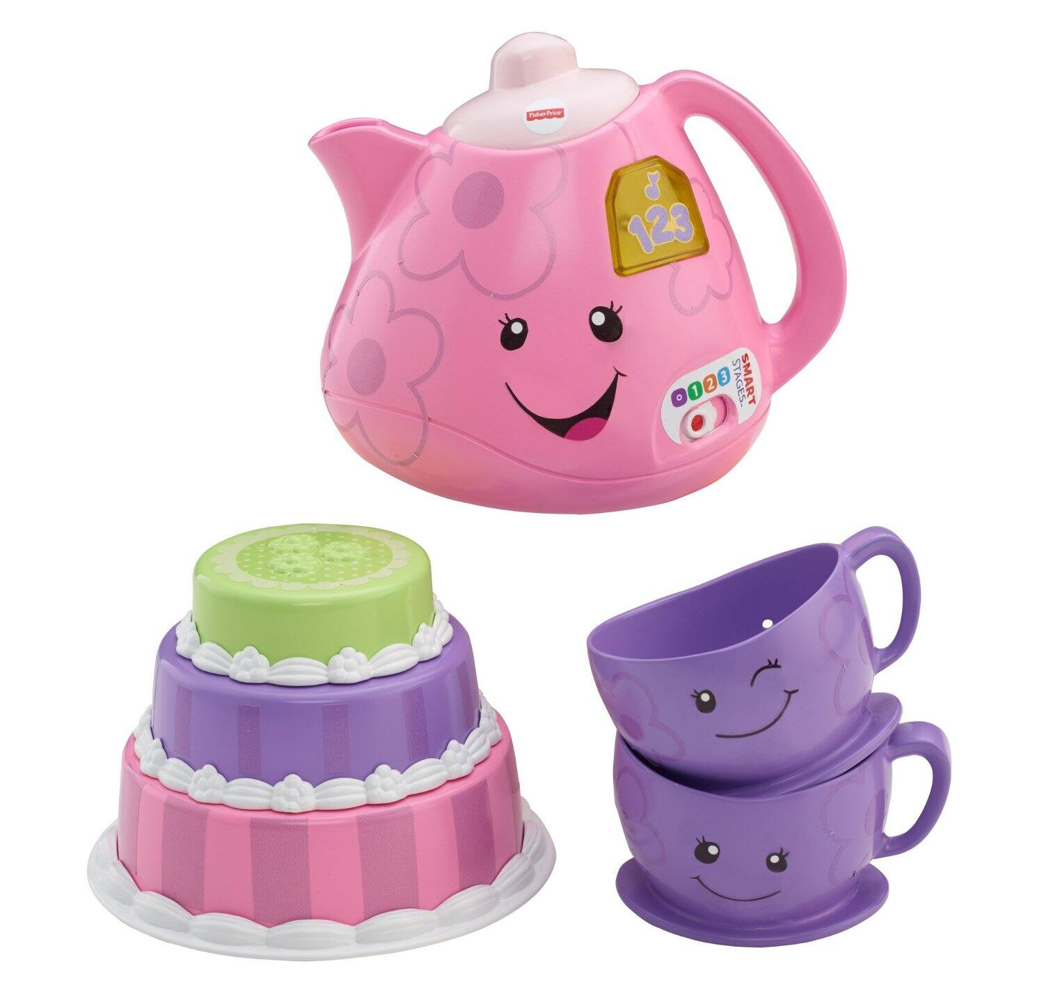 Fisher-Price Laugh & Learn Smart Stages Tea Set $11.80
