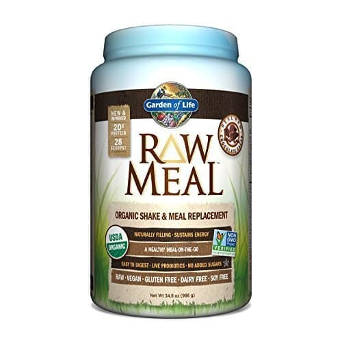 Garden of Life Raw Organic Meal/Protein Powder: 34.8 oz Chocolate  $13.60 & Much More + Free S/H