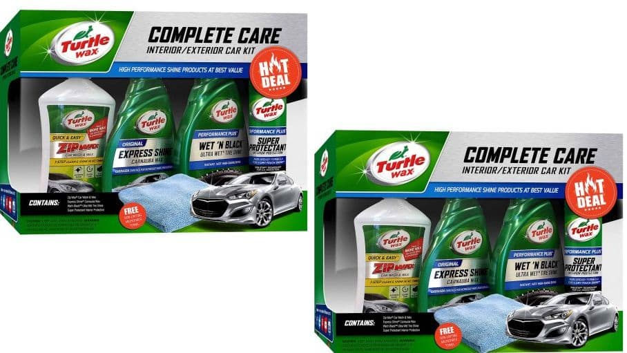 *2-Sets* of Turtle Wax 5-Piece Complete Care Kit $15.88 at Walmart