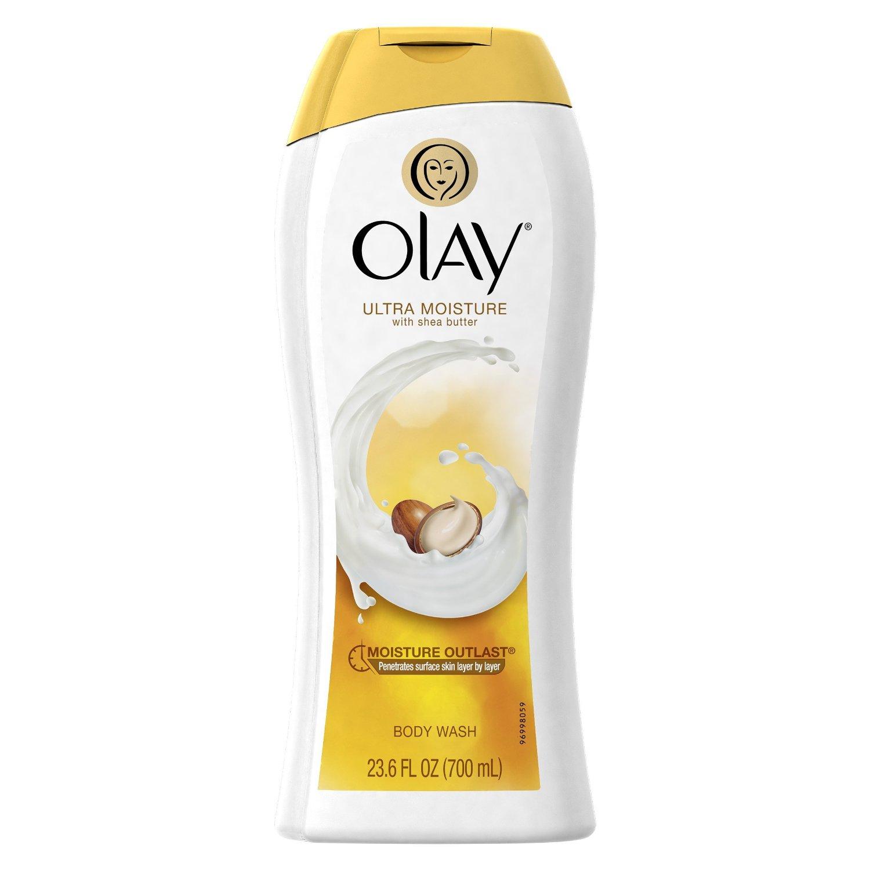 Olay Ultra Moisture Moisturizing Body Wash with Shea Butter 23.6 Oz Amazon $3.72