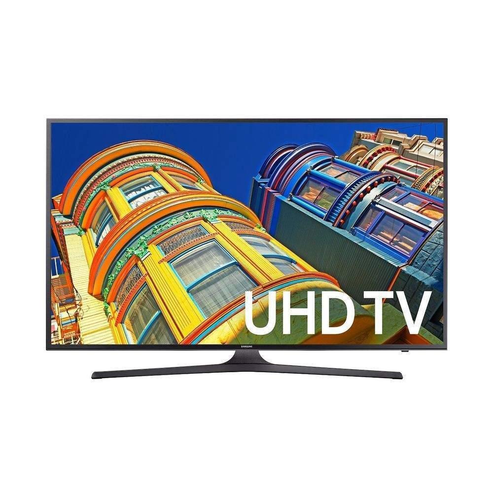 "43"" Samsung UN43KU6300 4K UHD HDR LED Smart HDTV  $399 + Free Shipping"