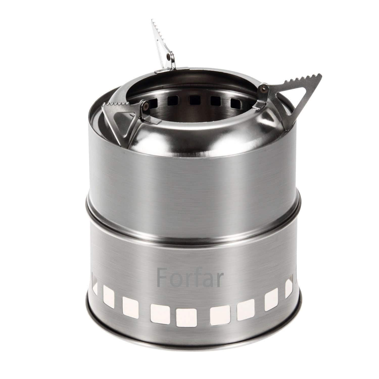 Portable Stainless Steel Camping Stove $15 + FSSS