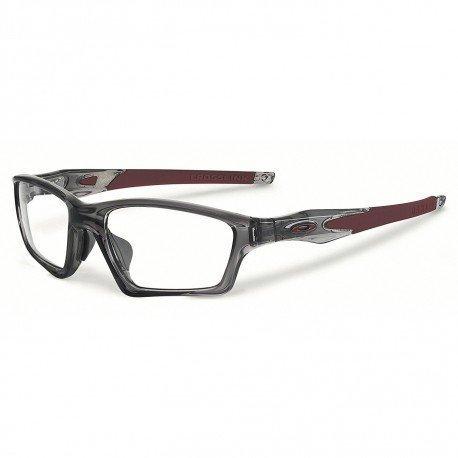 Oakley Men's Crosslink Sweep Grey Smoke Eyeglasses (Rx Ready)  $58 + Free Shipping