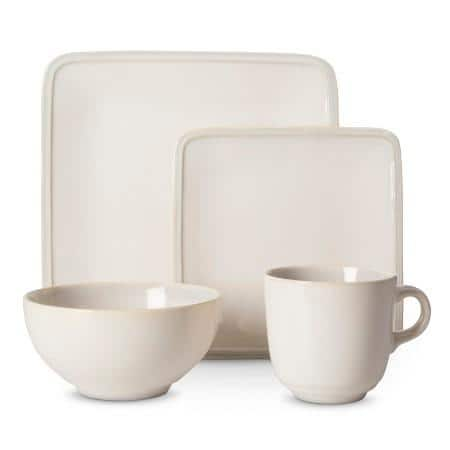 Target - Square Glazed Dinnerware Set 16-Pc $24 (was $70)