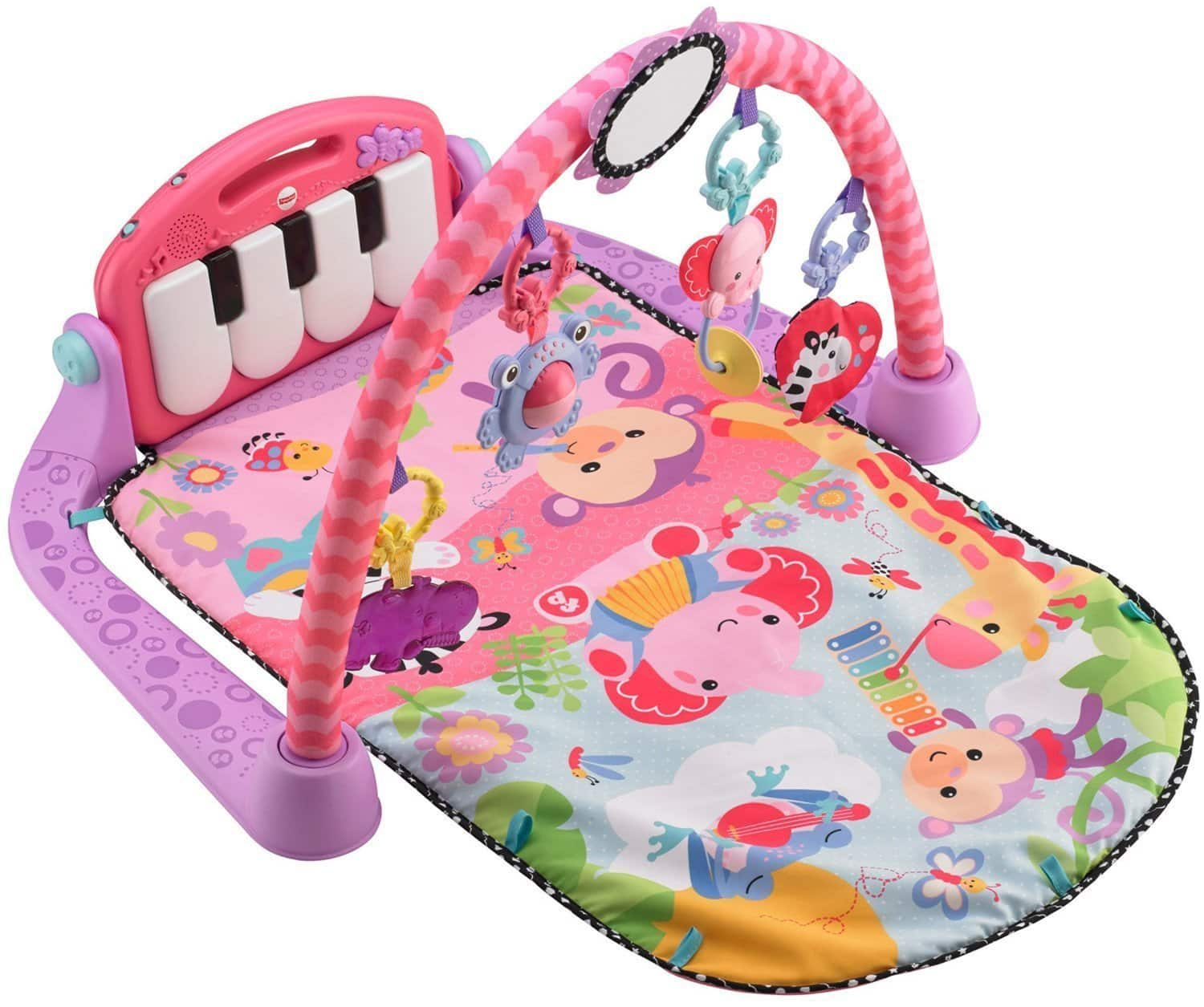 Fisher-Price: Kick and Play Piano Gym (Pink)  $27 & More