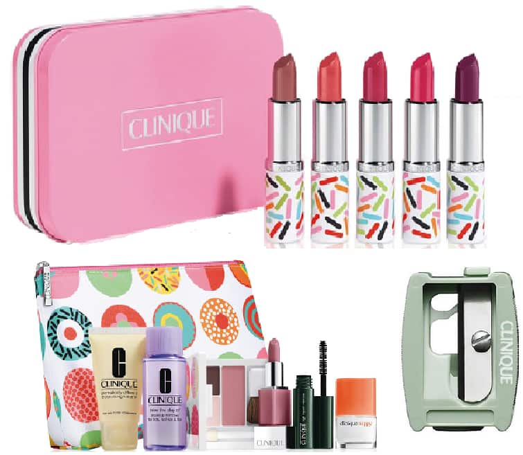 Clinique Candy Store Lipstick Set + Lip/Eye Pencil Sharpener + 7-Piece Gift Set $29.50 + Free Shipping