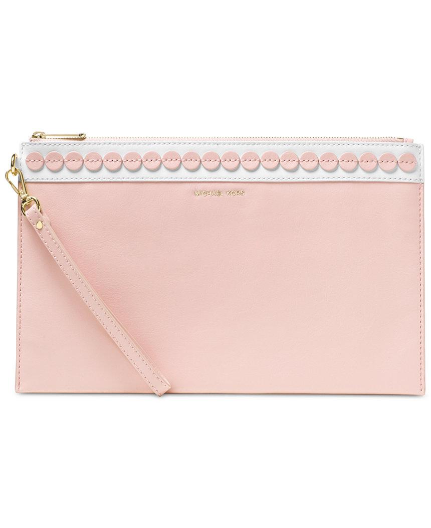 Michael Kors Handbags: Dottie Large Bucket Bag $107, Analise Extra Large Clutch  $41.40 & More