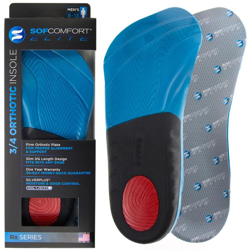 Sof Comfort Elite Mens Orthotic Shoe Insoles – Heel, Arch Support For $6.99 @ dealgenius.com