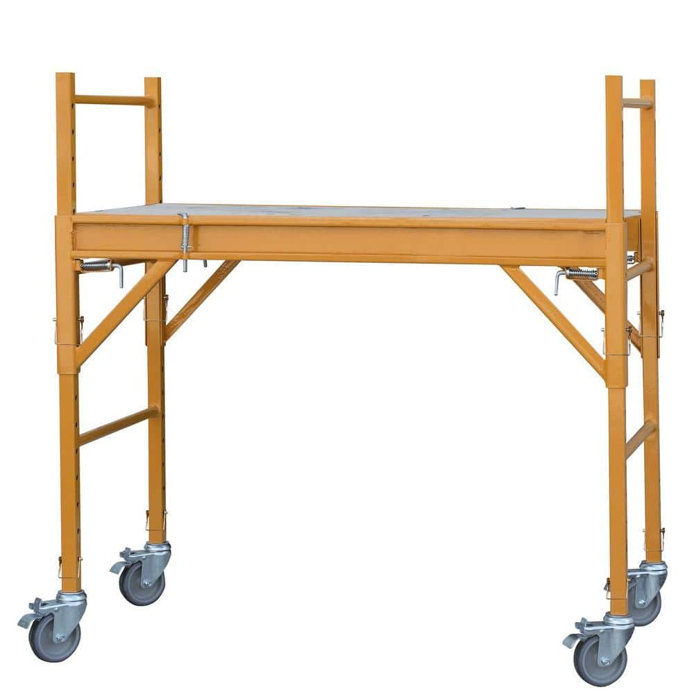 Scaffolding & Drywall Cart & other Builing Equipment: Pro-Series 4'x2'x4' Mini Multi-Use Drywall Baker Scaffold w/ 500 lb Load Capacity $88 with free shipping & more