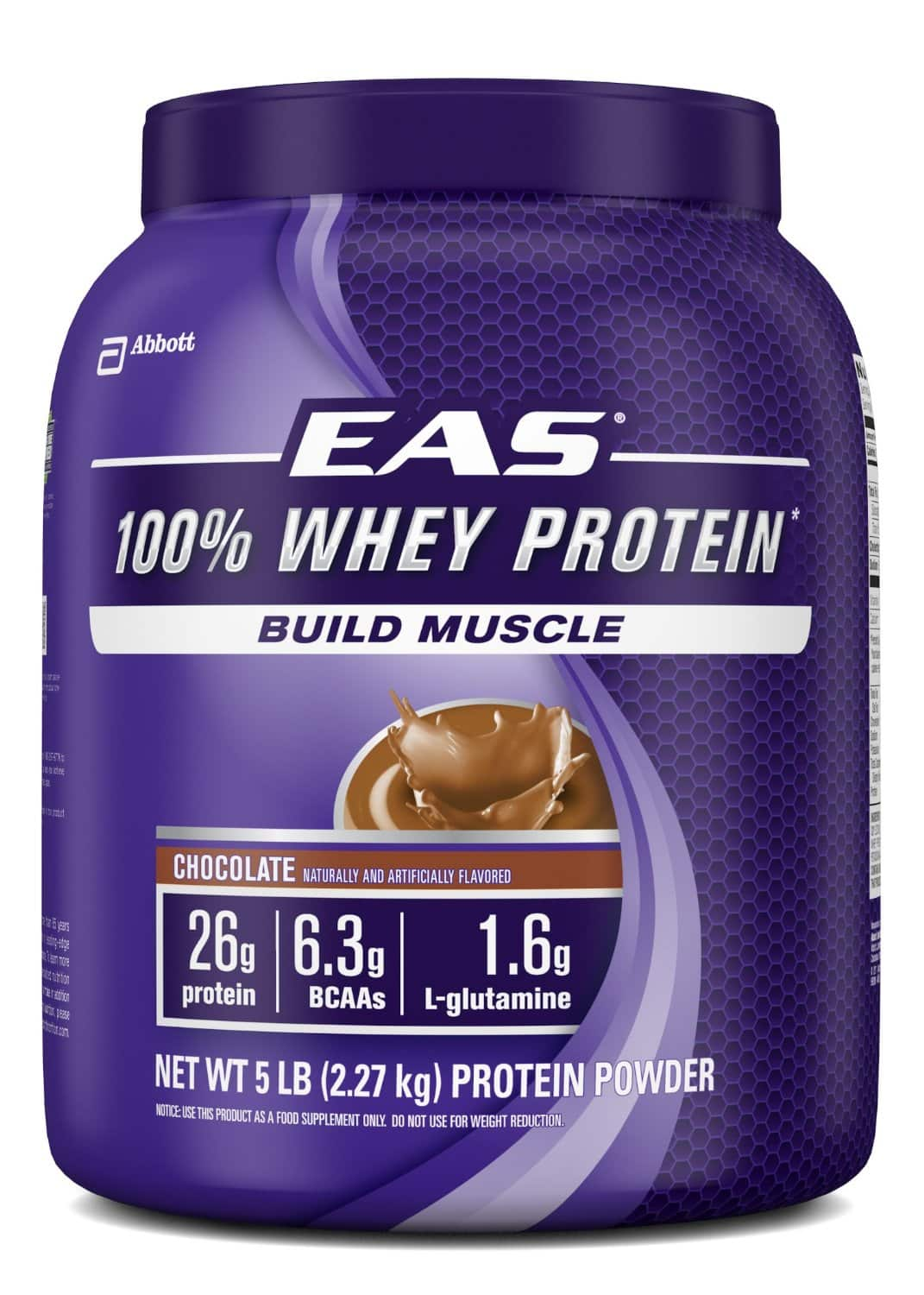 5-Lb EAS 100% Whey Protein Powder in Vanilla $26.30 (5% S&S) or $22.79 (15% S&S) + Free Shipping at Amazon