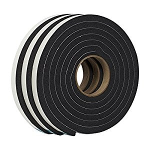 3-Pack Duck Brand Weatherstrip Seal for Extra-Large Gaps (30' total) for $6.94 at Walmart