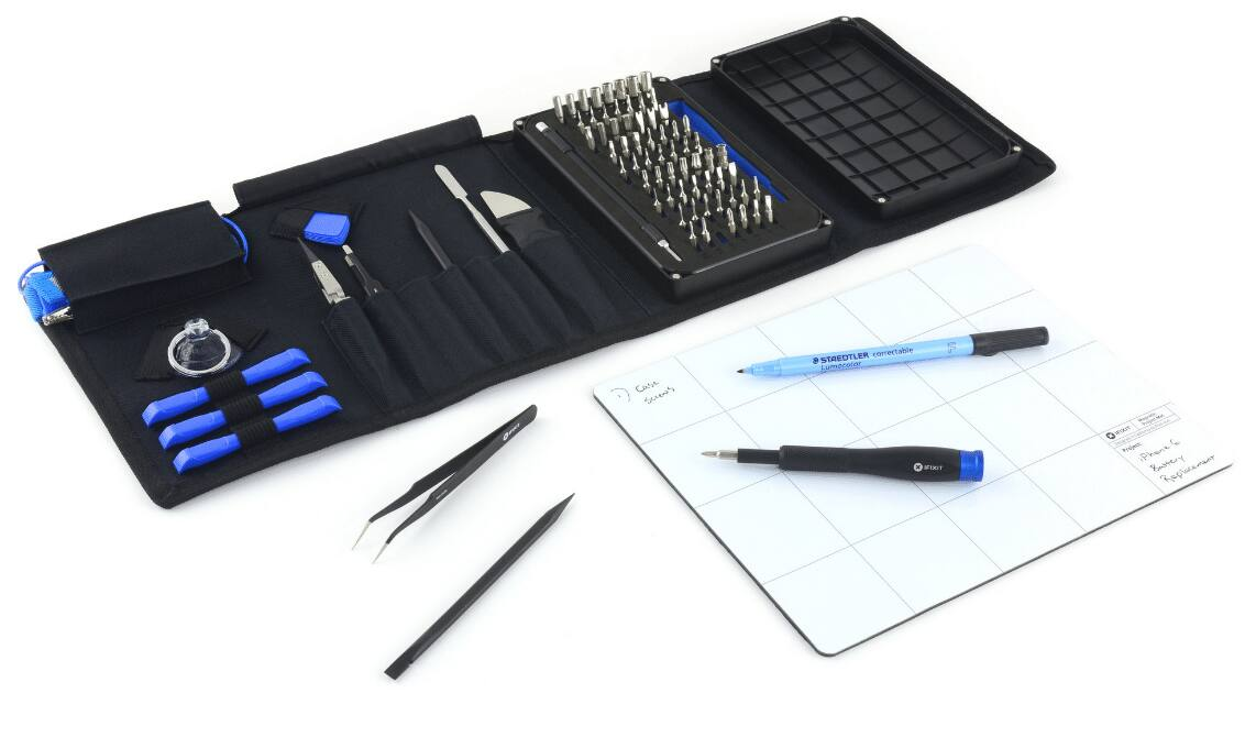 ifixit pro tech toolkit magnetic project mat. Black Bedroom Furniture Sets. Home Design Ideas