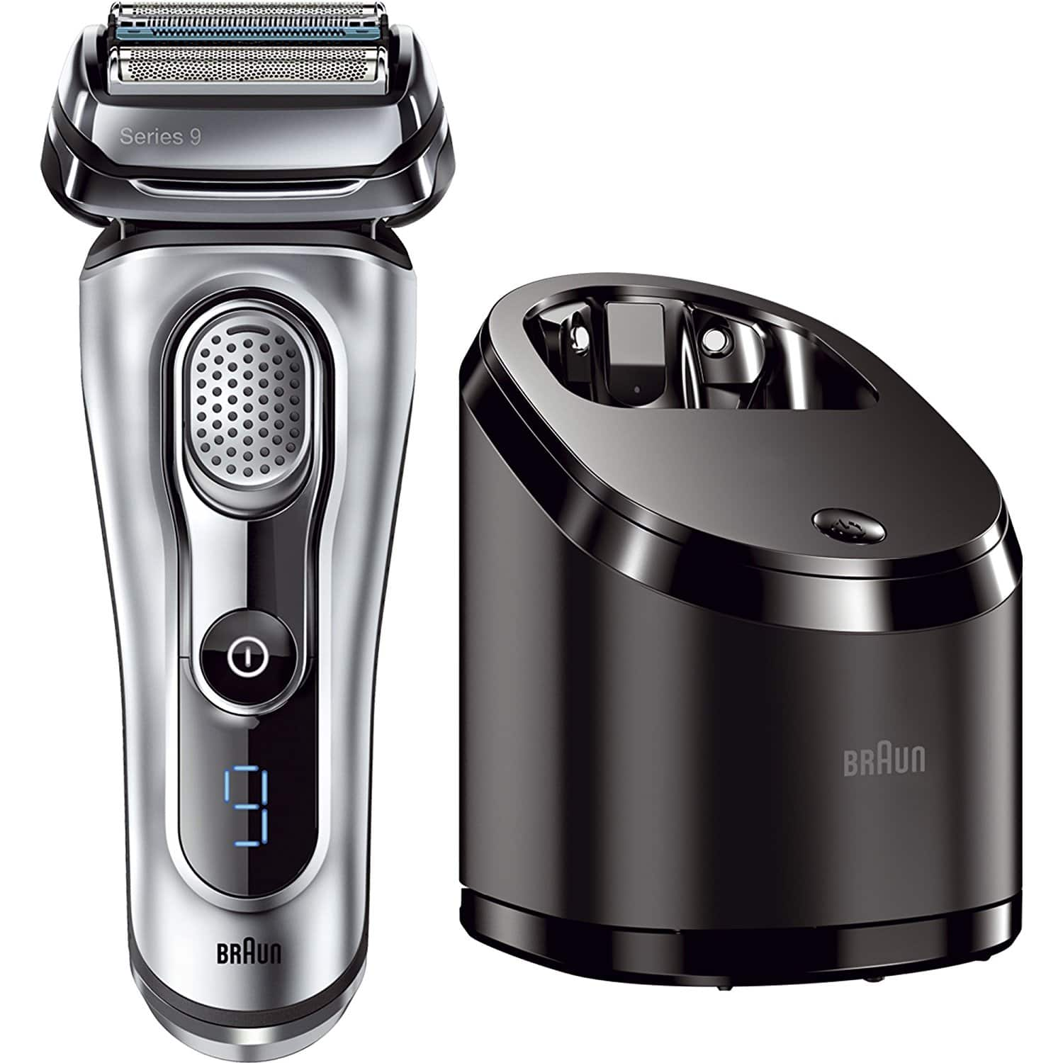 braun series 9 9090cc electric shaver w cleaning center. Black Bedroom Furniture Sets. Home Design Ideas