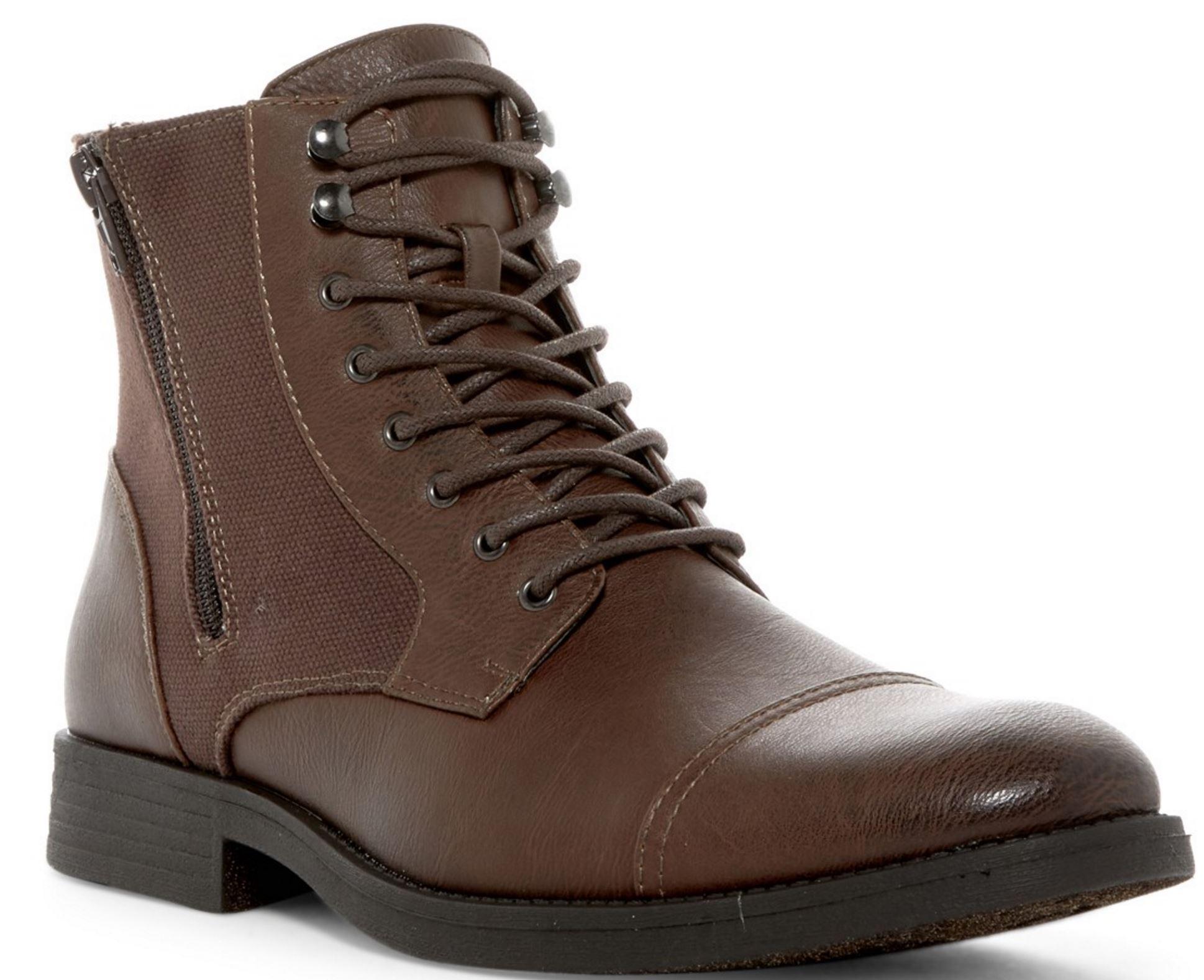 96709a2b911 Mens Boots: Wolverine Julian Suede Chukka $37, Robert Wayne Efny Cap ...