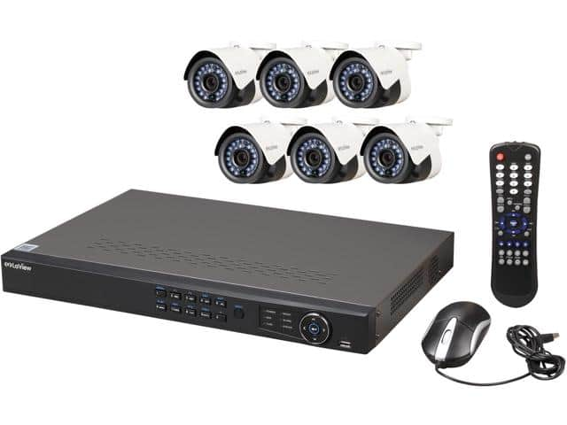 LaView LV-KN988P86A4 Premium IP Surveillance System 8-Channel + 6x Full HD 1080P Day/Night In/Outdoor Cameras (No HDD Included) for $374.99 + free shipping
