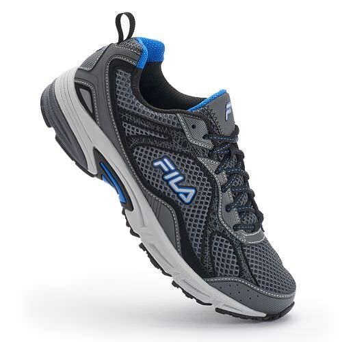 FILA Shoes $23.99 AC: FILA Travail Trail Shoes, FILA Windshift 15 or Vector Running, Go The Distance Cross-Training Shoes, Tactile Trail Running $23.99 at Kohl's (pick up in store)