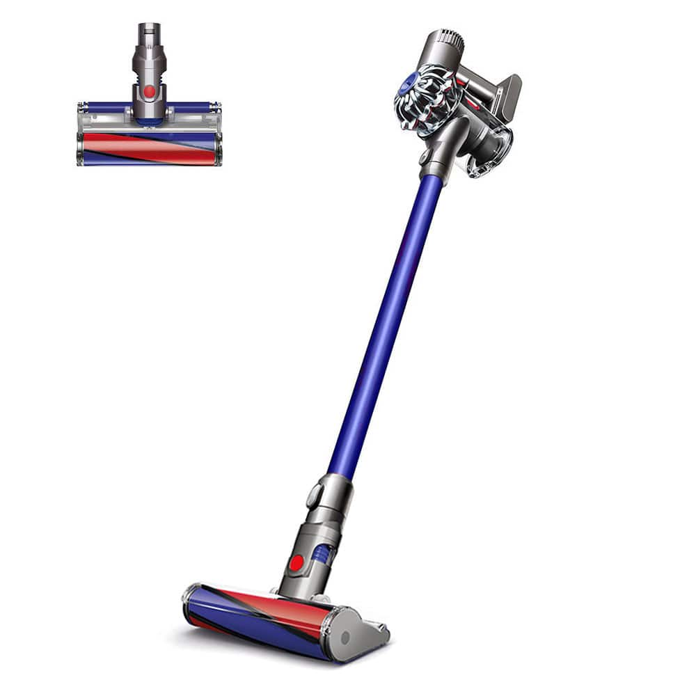 Dyson Outlet Coupon 25% off $50 or more via eBay: Dyson SV06 V6 Fluffy Hard-Floor Cordless Vacuum Cleaner (refurbished) $172 shipped & More (max discount $75)