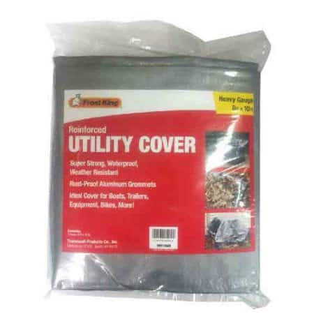 Frost King Reinforced 8'x10' Utility Cover w/ Grommets for $4.88 at Walmart