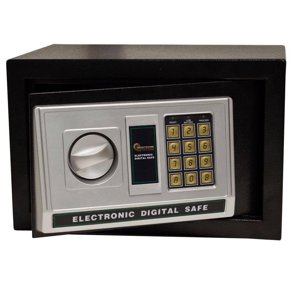 Magnum Electronic Security Safe (0.32 Cu Ft) for $34.99, Magnum Wall Safe $59, 3-Pack Airtight Metal Boxes $39.99, Auto Emergency Hammer $3.99 & More