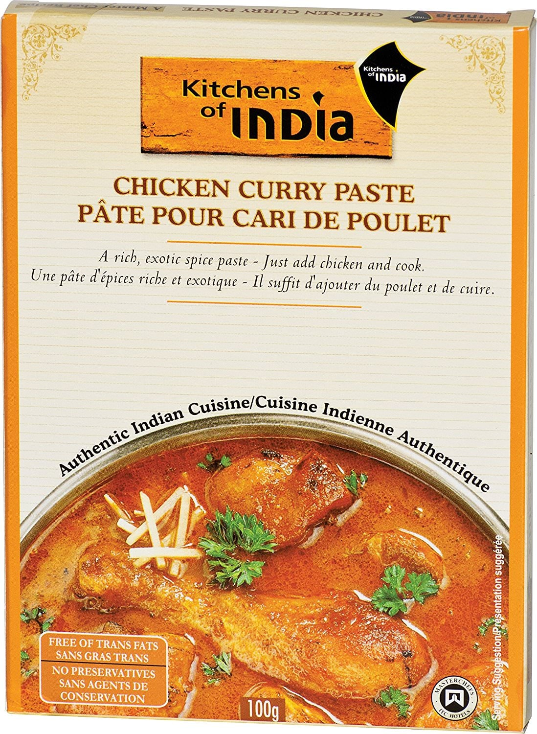 6-Pack of Kitchens of India Chicken Curry Paste for $8.94 at Amazon *Add-on Item*