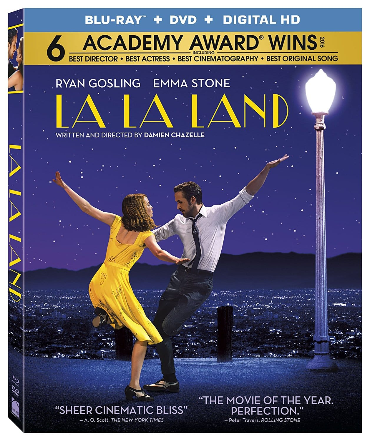 La La Land (Blu-ray + DVD + Digital) for $9 + free shipping at Target right now