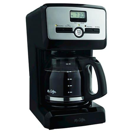 Mr. Coffee 12-Cup Programmable Coffeemaker $15 + Free Shipping