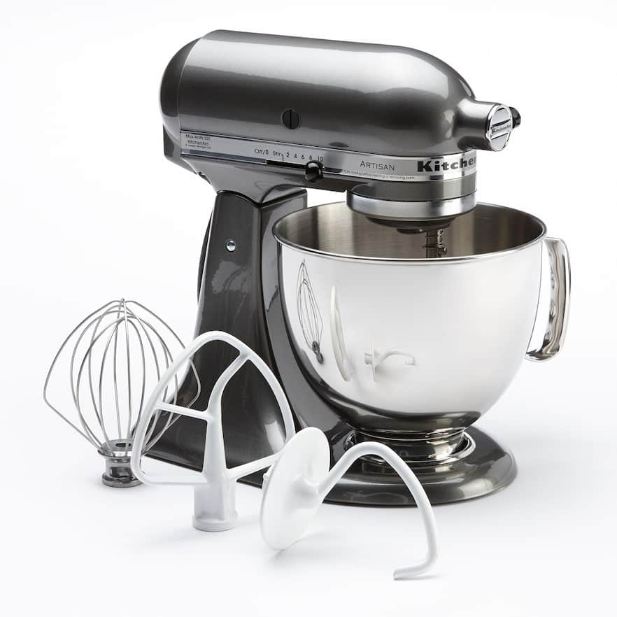 KitchenAid Artisan 5-Quart Stand Mixer + $75 Kohl's Cash for $212 after Rebate