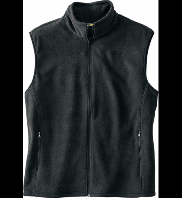 Cabela's Men's Fleece Vest (black or blue) for $9.99 + Free Shipping