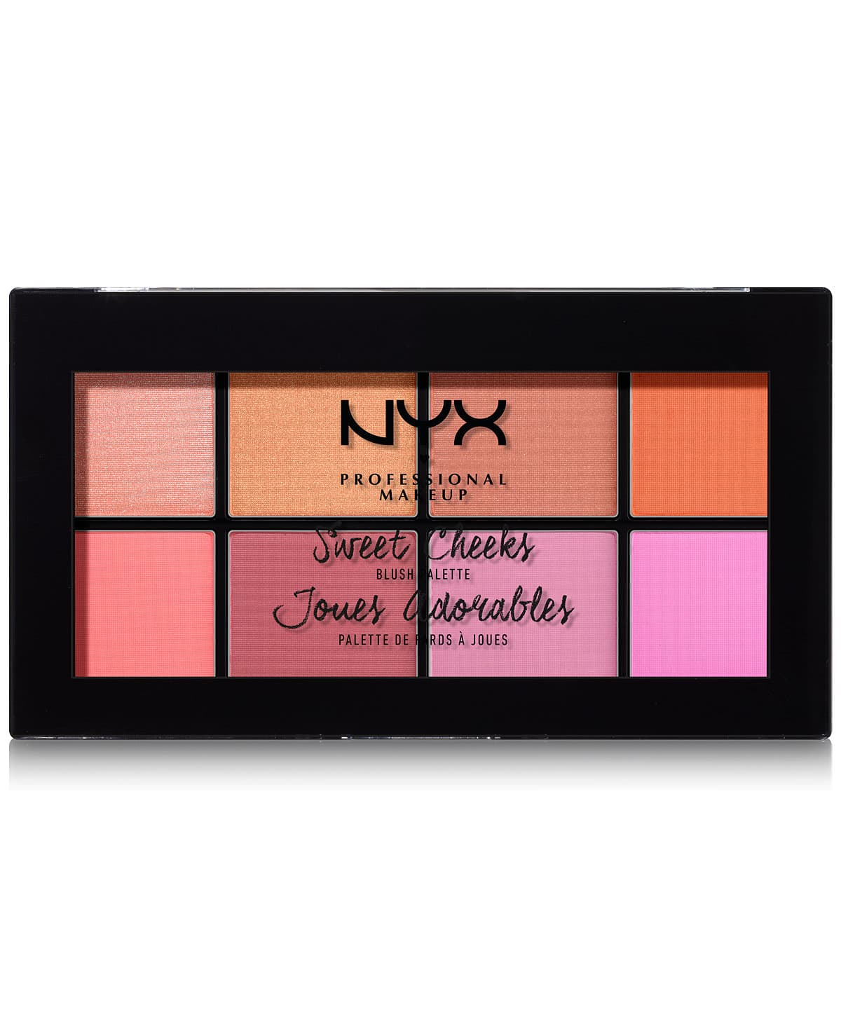 NYX Professional Makeup Sweet Cheeks Blush Palette $12.19 + Free Shipping