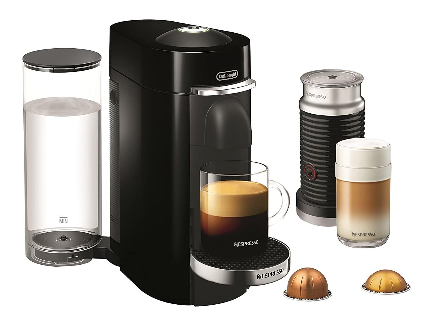 Nespresso VertuoPlus Deluxe Coffee & Espresso Maker by De'Longhi w/ Aeroccino 3 Milk Frother $102.49 + free shipping (or $97 w/ REDcard)