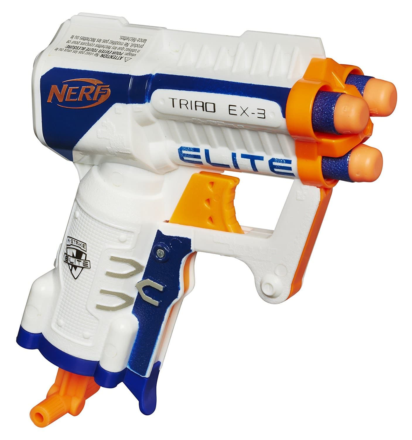 Nerf N-Strike Elite Triad EX-3 for $3.39 w/ in-store pick up at Walmart
