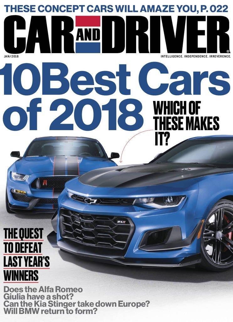 Car & Driver Magazine - Slickdeals.net