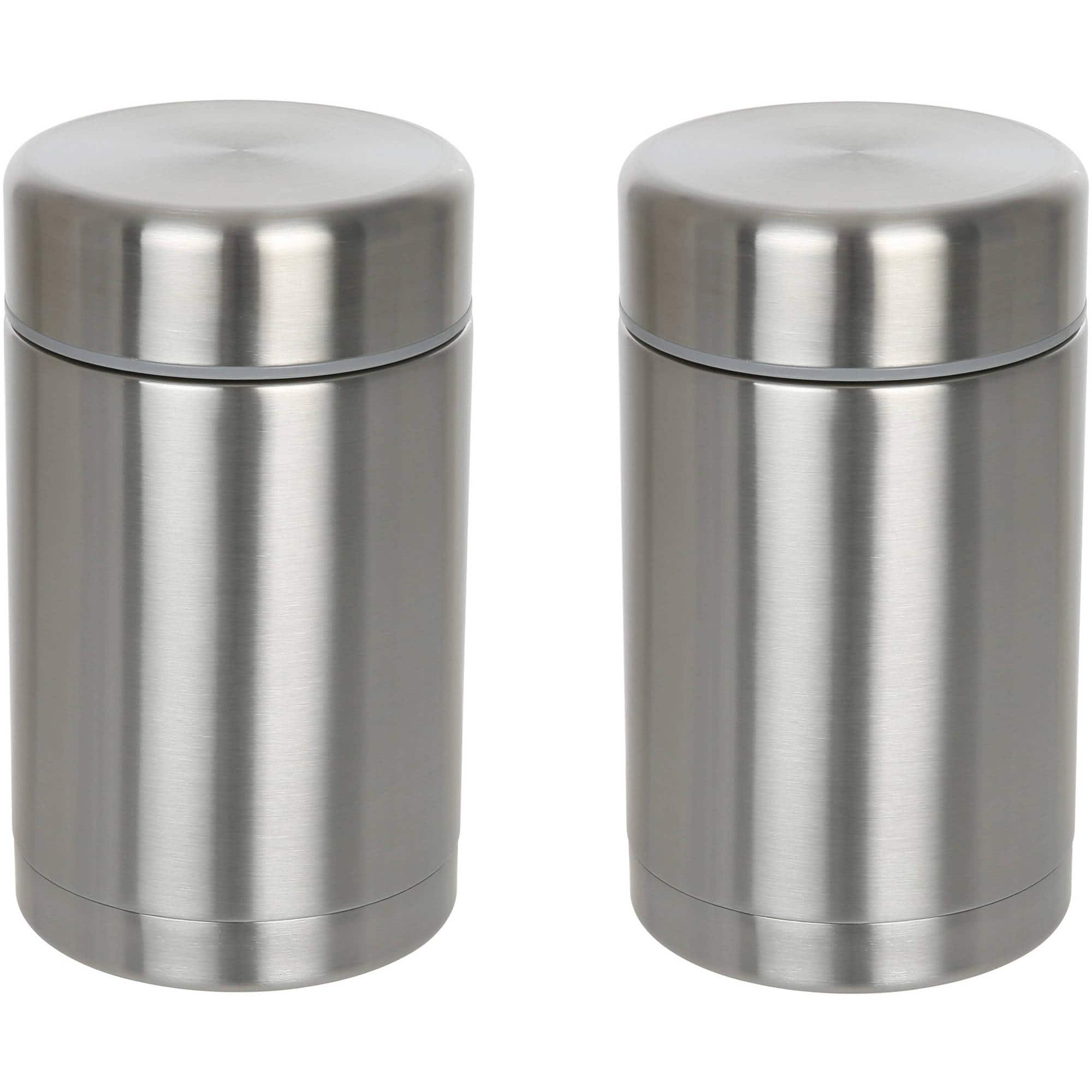 2-Pack Penguin Brand 18/10 Stainless Steel Insulated Food