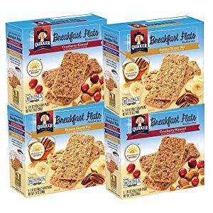4-Count of 5-Pack Quaker Breakfast Flats Breakfast Bars $6.33 AC *Amazon Prime Members*