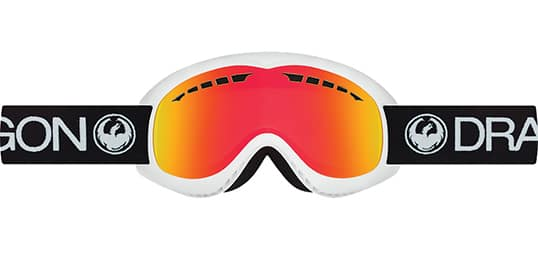 DRAGON DX Inverse Red Ionized Snow Goggles $19 + Free Shipping *Price Drop*