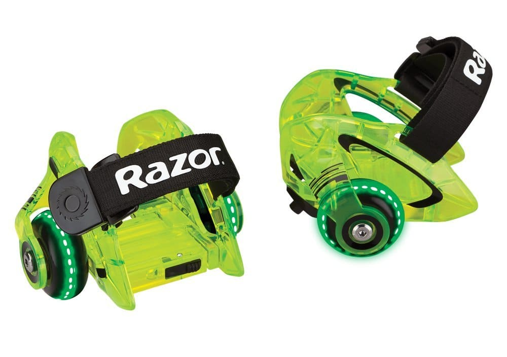 *Died Fast* Razor Jetts DLX Heel Wheels (Neon Green) for $9.75 at Amazon *Back for Less*