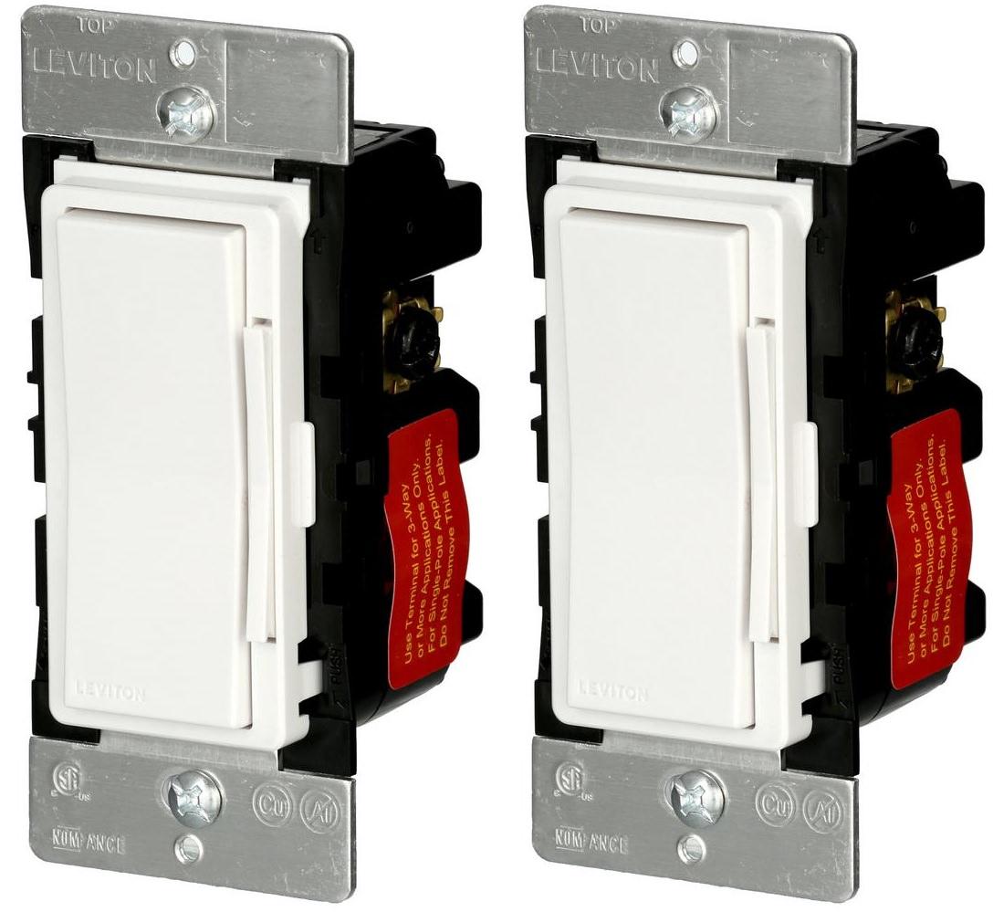 2Pack Leviton Decora Smart 600Watt ZWave Dimmer Slickdealsnet