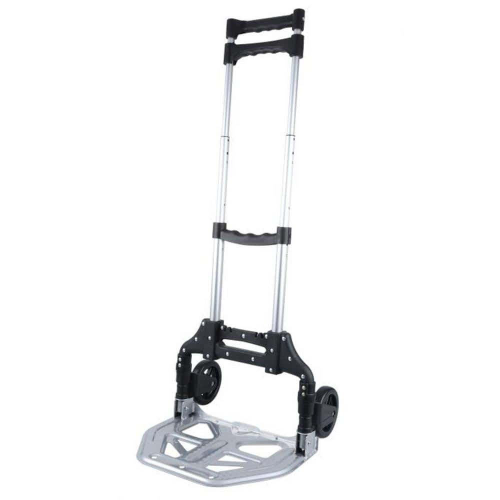 Olympia Pack-N-Roll Folding Hand Truck/ Cart w/ Steel Toe Plate $16.99 at Home Depot