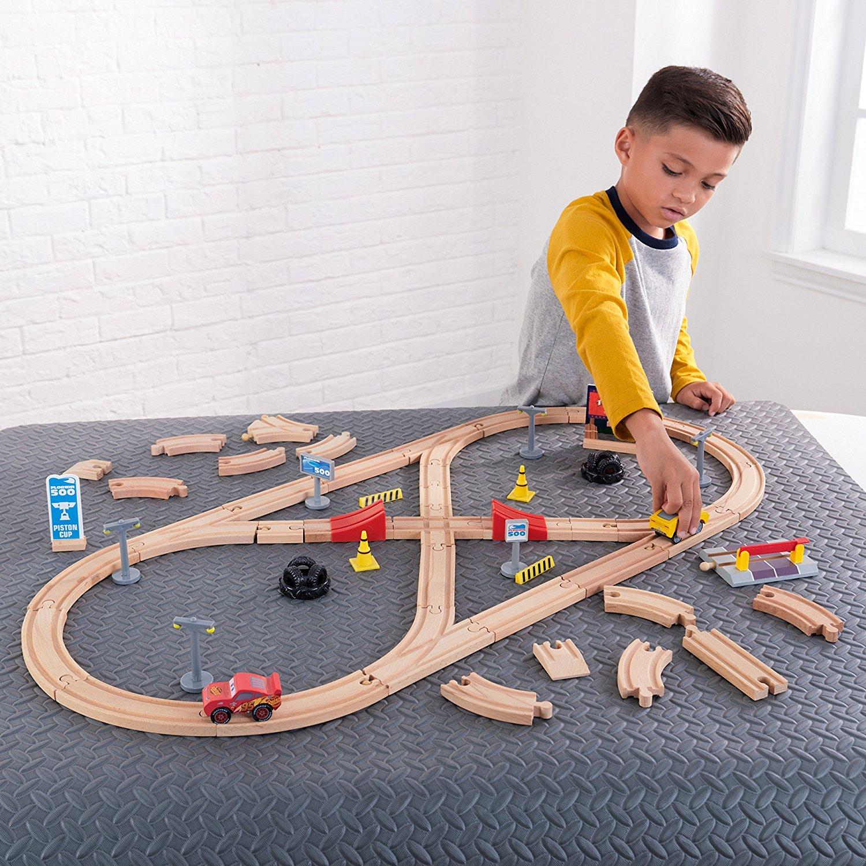 55 Piece Kidkraft Disney Pixar Cars 3 Build Your Own Wooden