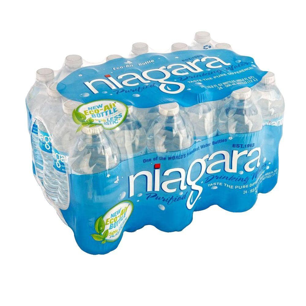 8b90ac95d5 24-Pack of Niagara 16.9-oz Purified Drinking Water $1.98 at Home Depot  *In-Store Only*