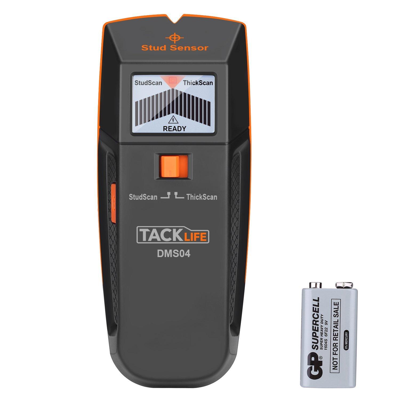 Tacklife DMS04 Stud Sensor w/ Large LCD Display $18.18 at Amazon